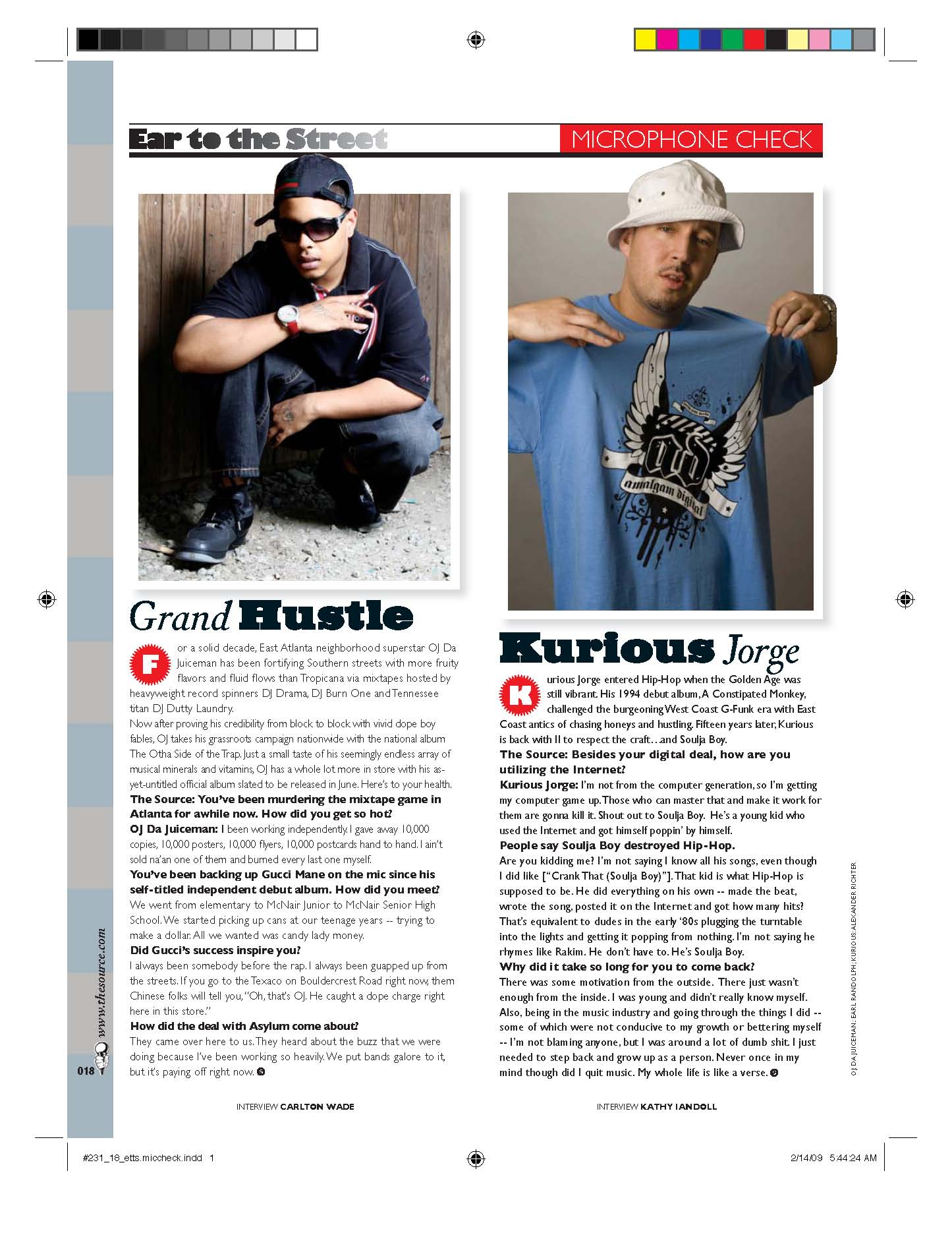 The Source Magazine: Article Layout & Design