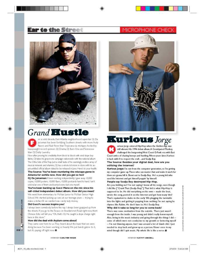 The Source Magazine: Article Layout &Design