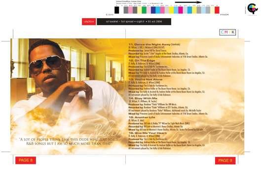 CD Design: Bobby V - The ReBirth