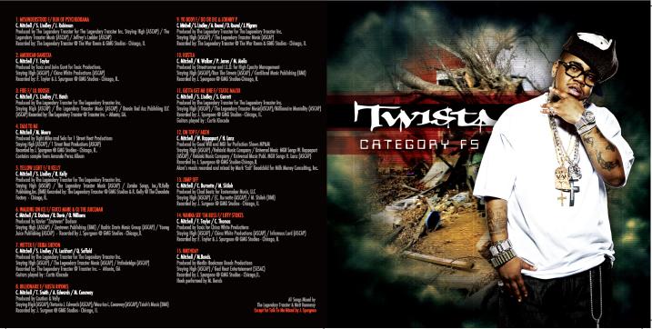 EMI: Twista CD Design