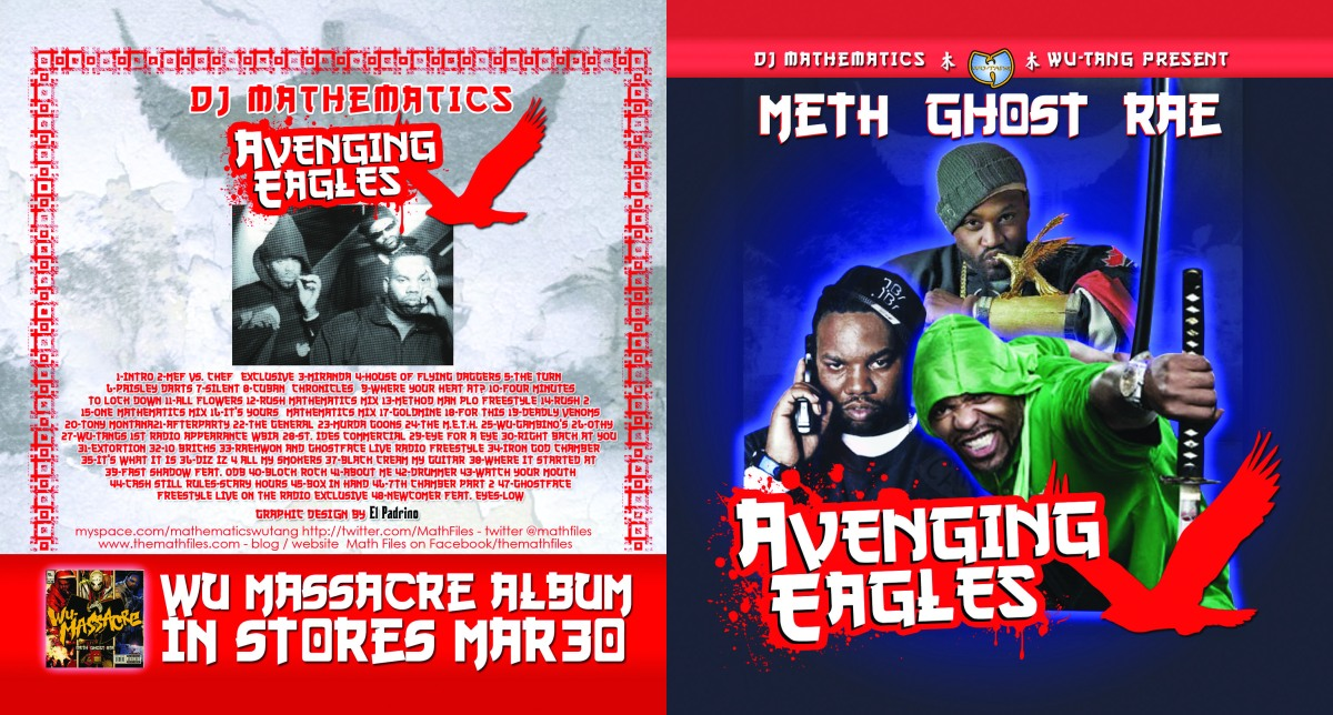 CD Design: Meth Ghost Rae