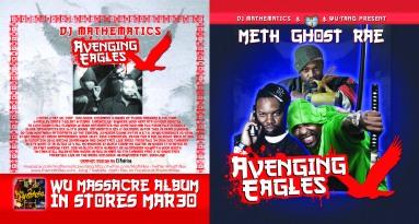 CD Design: Meth Ghost Rae