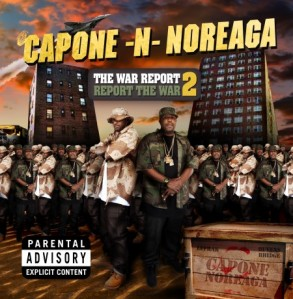 EMI: Capone -N- Noreaga CD Design