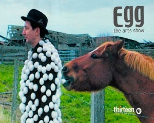 Thirteen/Wnet-NY: EGG the Arts Show Post Card
