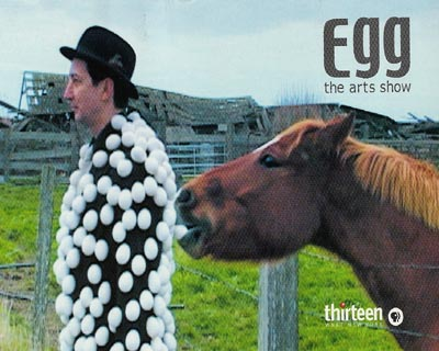 Thirteen/Wnet-NY: EGG the Arts Show Post Card