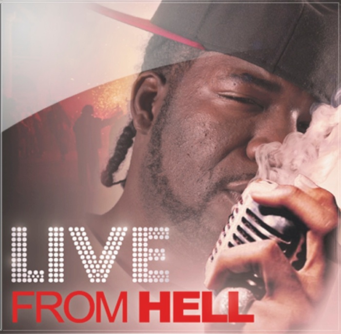 CD Design: Hell Rell Live FromHell