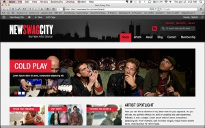 Web design: New Swag City