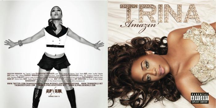 Album Design: Trina –Amazin