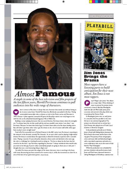 Magazine Layout: THE SOURCE