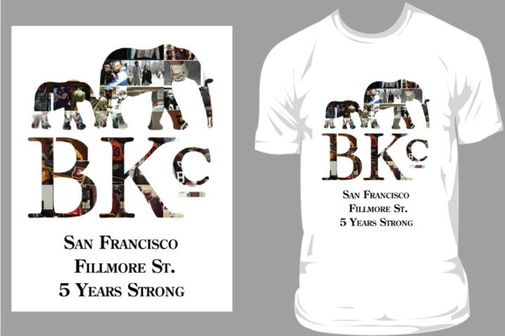 My Design for THE BROOKLYN CIRCUS SF T-SHIRT DESIGN CONTEST
