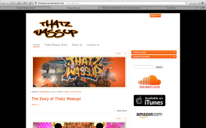 Thatz Wassup Website