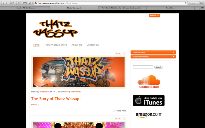 Website: Thatz Wassup