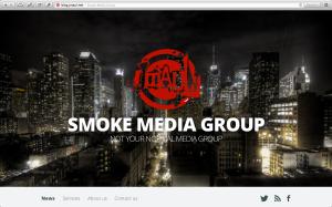 Smoke Media Group Website