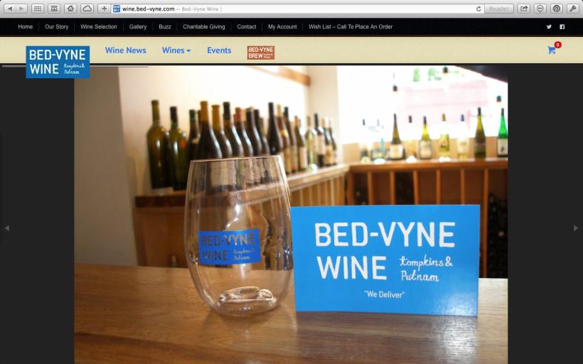 Bed-Vyne Wine
