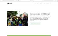 49 Strong - Website Design