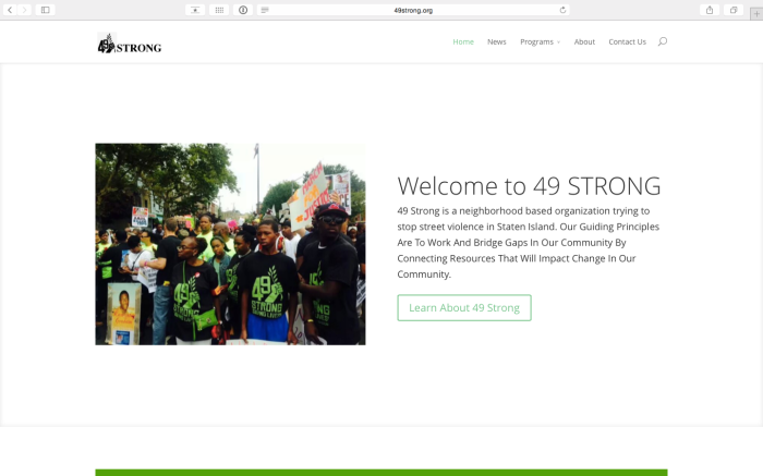 New Project: 49Strong.org