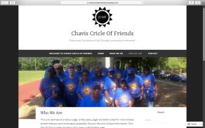 Website Chavis Cricle of Friends